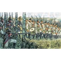 Infantería austríaca, Guerras Napoléonicas. ITALERI 6884