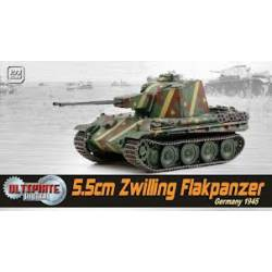 5.5 cm Zwilling Flakpanzer German 1945. DRAGON 60593