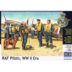Pilotos de la RAF, II Guerra Mundial. MASTER BOX 3206