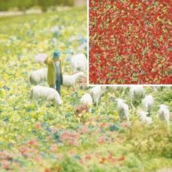 Flower imitation.