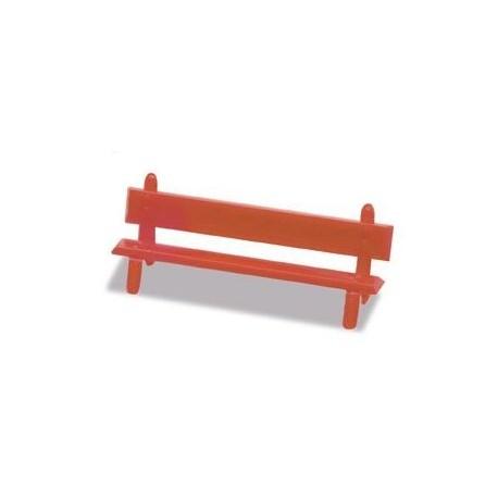 Platform Seats, red. PECO LK-26