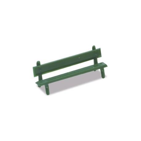 12 bancos verdes. PECO LK-25