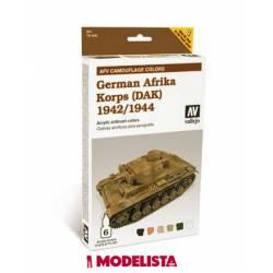German Afrika Korps (DAK) 1942/1944. VALLEJO 78410