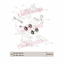 DC drive axle set. CIVIA.