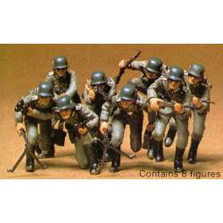 German assault troops infantry.TAMIYA 35030