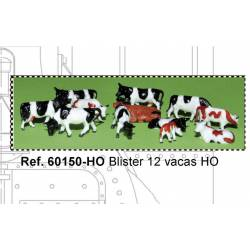 12 cows blister. MABAR 60150-H0