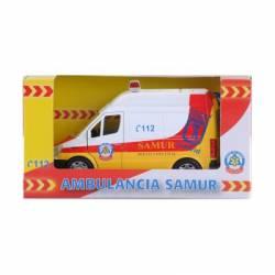 Ambulancia del SAMUR.