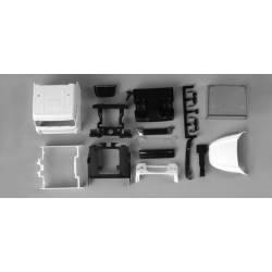 DAF XF 105 SC driver's cabin.
