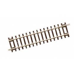 Straight track 119 mm.