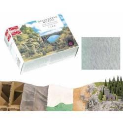 Scenery motar rocks (grey). BUSCH 7590