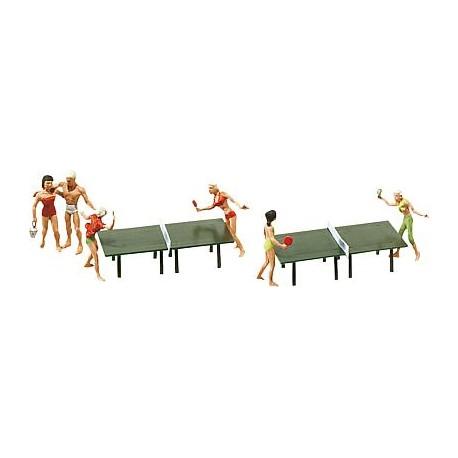 Jugando al ping-pong. FALLER 151053