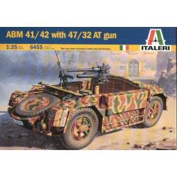 ABM 42 with 47/32 AT gun. ITALERI 7053