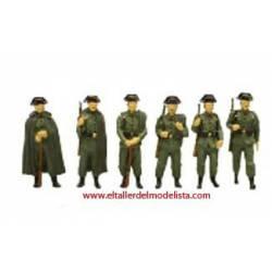 Guardia civil, años 50.