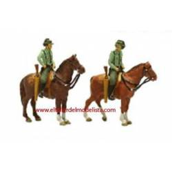 Guardia Civil a caballo.