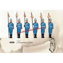 Guardia Real: Lanceros. ANESTE 4456