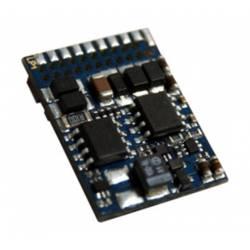 LokPilot V4.0 multiprotocol decoder, 21-pin plug.