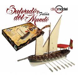 Falúa del navío Salvador del Mundo. DISARMODEL 20133