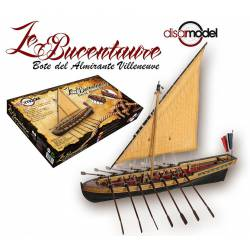 Le Bucentaure. Bote de Villenueve. DISARMODEL 20132