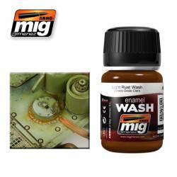 Enamel Wash: Light Rust. 35 ml. AMIG 1004