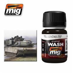 Enamel Wash: NATO/Dark Camouflages. 35 ml. AMIG 1008