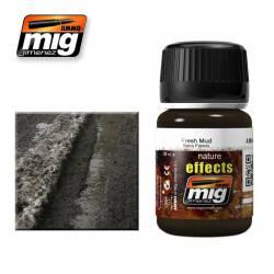 Efecto natural de barro fresco. 35 ml. AMIG 1402