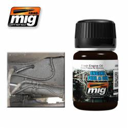 Nature Effect of Fresh Engine Oil Leaks. 35 ml. AMIG 1408