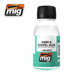 Sand and Gravel Glue. 100ml.