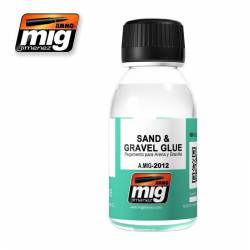 Adhesivo para grava y arena. 100 ml.