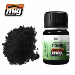 Pigment - Black. 35 ml. AMIG 3001