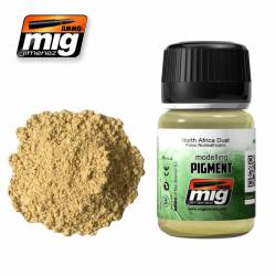 Pigmento polvo norteafricano. 35 ml.