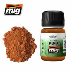 Pigment - Light Rust. 35 ml. AMIG 3006