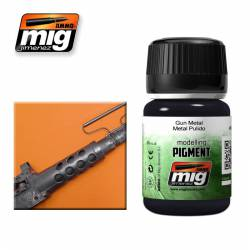 Pigment - Gun Metal. 35 ml. AMIG 3009