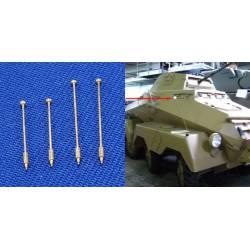 Indicadores de gálibo para vehículos militares. RB 35A01