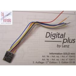 Decoder GOLD Mini. LENZ 10410