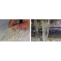 Material para crear agua transparente.