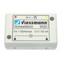 Electronic welding light. VIESSMANN 5020