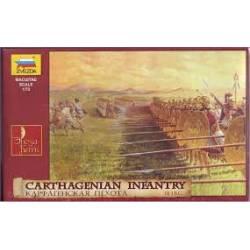 Infantería cartaginesa.