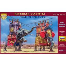 Elefantes de guerra. ZVEZDA 8011