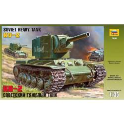 KV-2 soviet heay tank.