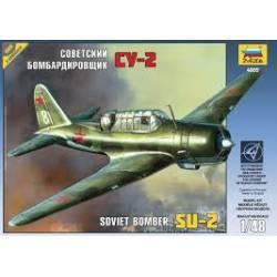 Bombardero soviético SU-2. ZVEZDA 4805