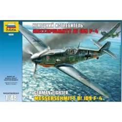 Messerschmitt Bf 109 F-4. ZVEZDA 4806