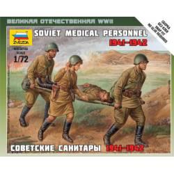 Soviet medical personnel.