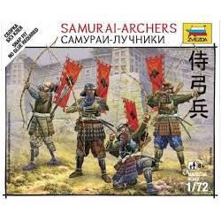 Arqueros samurais. ZVEZDA 6404