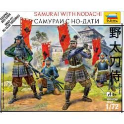 Samurais con nodachi. ZVEZDA 6405