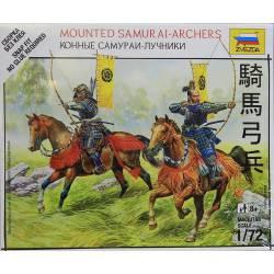 Arqueros samurais a caballo. ZVEZDA 6416