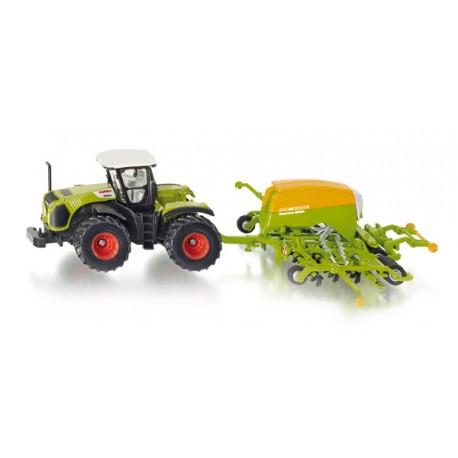 Tractor with seeder. SIKU 1826