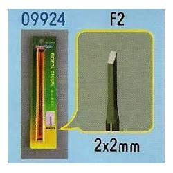 Cincel para modelismo, 2mm.