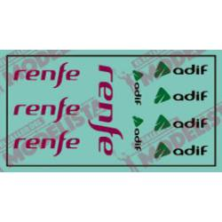 Modern Renfe and Adif logos.
