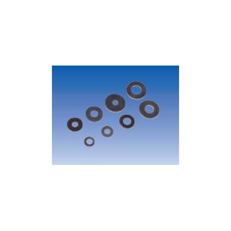Arandelas de hierro cincado (x100). AH10