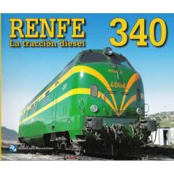 RENFE 340. La tracción diesel